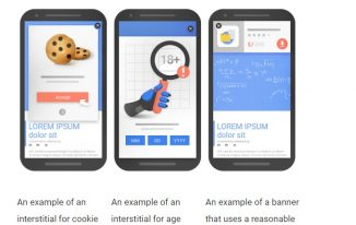 Google be punishing mobile sites using Intrusive pop-up ads