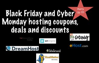Black Friday/ Cyber Monday 2016 web hosting deals and discounts