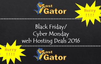 HostGator Black Friday/Cyber Monday web hosting deals 2016