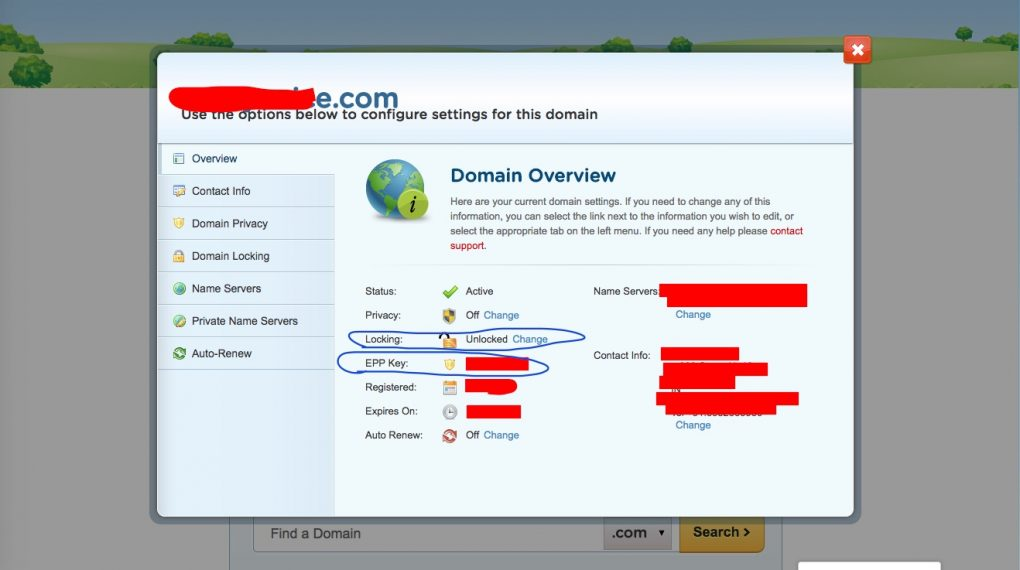 HostGator Domain Unlock
