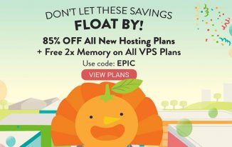 a small orange Black Friday Deal 2016 – 85% OFF !!