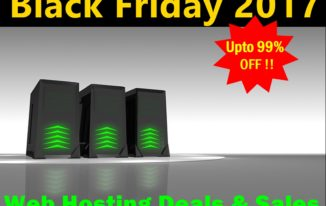 Black Friday 2017 Web Hosting deals {upto 80% OFF !}