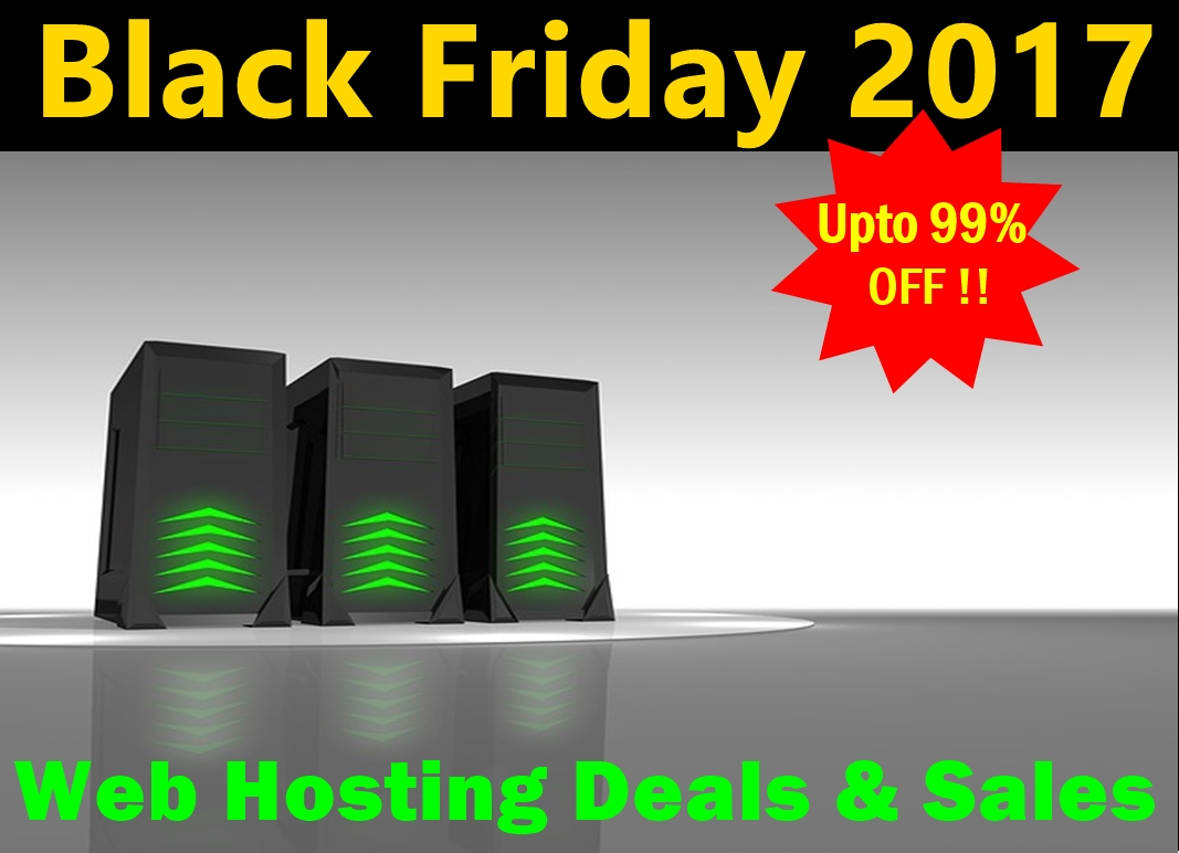 Black Friday 2017 Hosting
